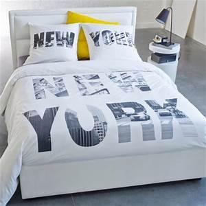 Housse de couette ado adolescent linge de lit housse for Décoration chambre adulte avec housse de couette 220x240 polyester