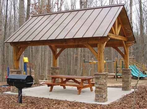 Pavilion Plans Backyard by Log Frame Pavilion Timber Frame Pavilion Plans Pergola