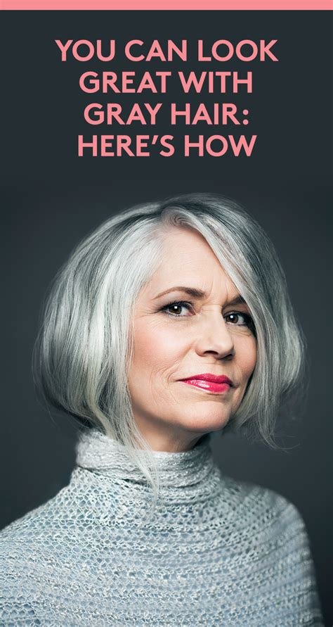 How To Go Gray Gracefully How To Grey Hair Care Curly
