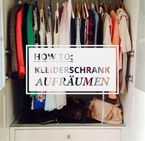 Kleiderschrank Sortieren Aufräumen by Kleiderschrank Aufr 228 Umen So Einfach Geht Sfashion Up Your