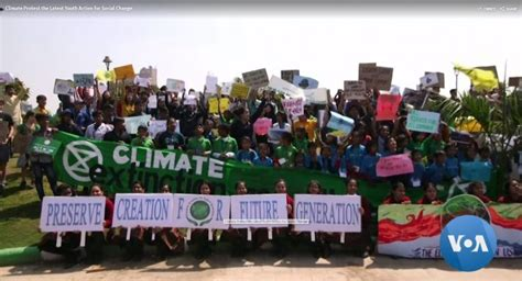 Climate Protest the Latest Youth Action for Social Change ...