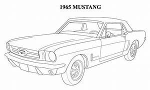 1964 Mustang Coloring Pages | mustangs | Pinterest ...
