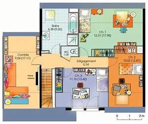 plan de maison en ligne gratuit With plan 3d maison en ligne
