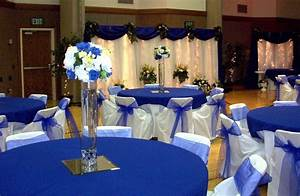royal blue and silver wedding decor centerpieces wedding With royal blue wedding ideas