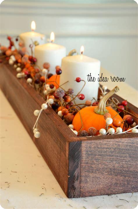 diy fall centerpiece ideas  decorations