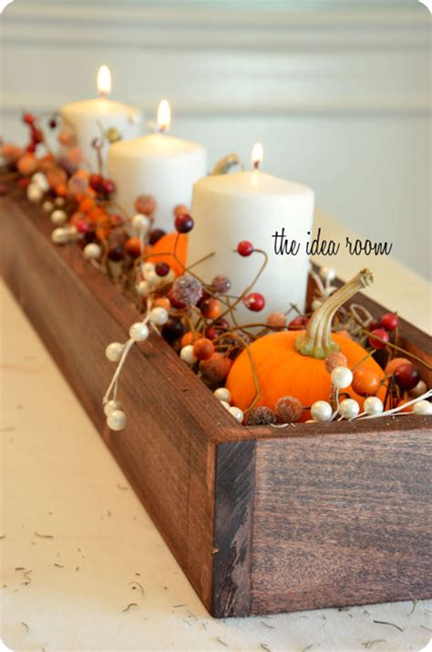 27 Best Diy Fall Centerpiece Ideas And Decorations For 2019