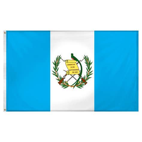 Guatemala flag 3ft x 5ft Super Knit Polyester