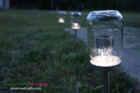 amandabaity upcycled jar solar lights