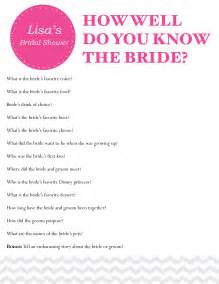 Trivia Questions For Bridal Shower by Photo Bridal Shower Questions For Couple Image