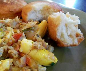 Ackee and Saltfish with Fried Dumplings - Jehan Can Cook