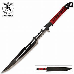 RED GUARDIAN TACTICAL ZOMBIE SWORD KNIFE NEW | eBay