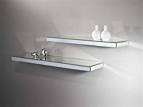 Bedroom Mirrors With Shelf by Mirrored Wall Shelf A Smart Way To Add Your Home Interior