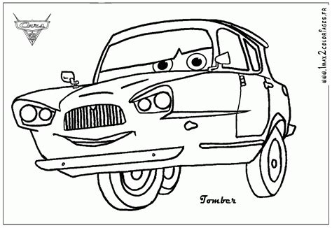 cars characters coloring francesco bernoulli coloring pages coloring home