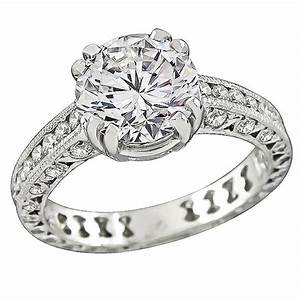 tacori 203 carat diamond platinum engagement ring and With tacori wedding rings sale