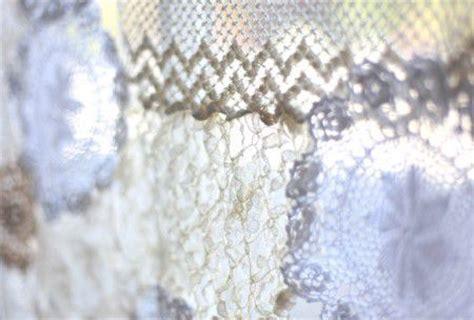 aprender a confeccionar cortinas como hacer una cortina con mantelitos tejidos todo