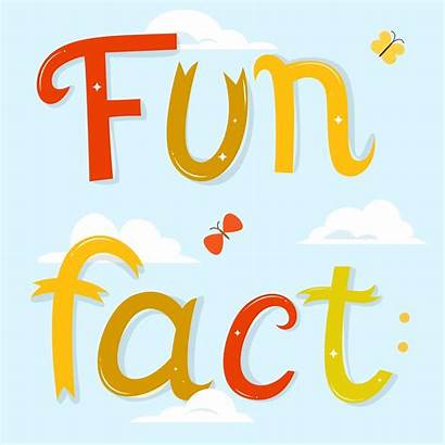 Fact Fun Background Cartoon Facts Vector Letters