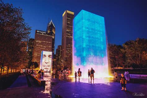 crown fountain    reviews public art