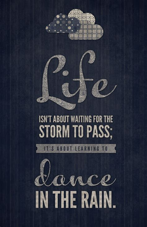 happiness is  waiting for the storm to pass   Pure Ella