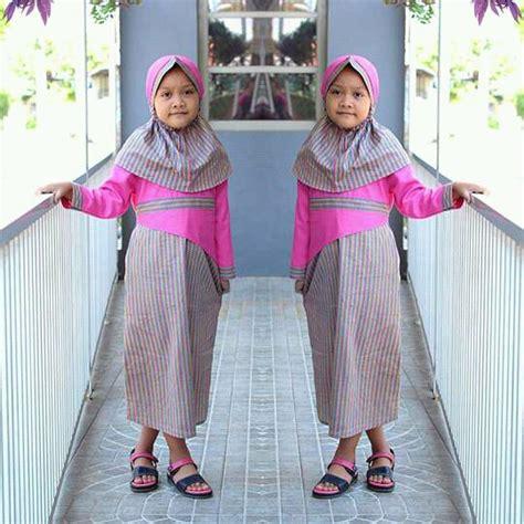 stelan baju muslim anak jual stelan baju muslimah anak baru busana baju muslim