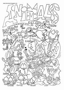 Zoo Animal Coloring Pages 2 Animal Pictures To Color ...