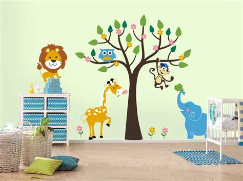 sticker mural chambre comment d 233 corer une chambre d enfant stickers