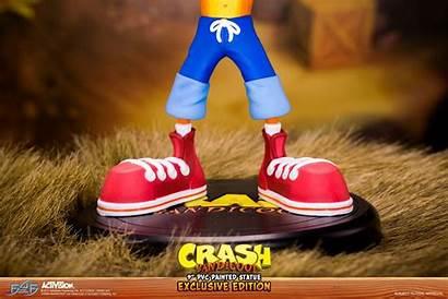 Crash Bandicoot Exclusive Air Statue Shoes Pvc