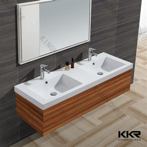 solid surface sinks kitchen solid surface bathroom sinks with two faucets buy 5606