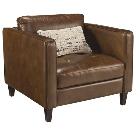 upholstered chair with ottoman upholstered chair and ottoman with button tufting by
