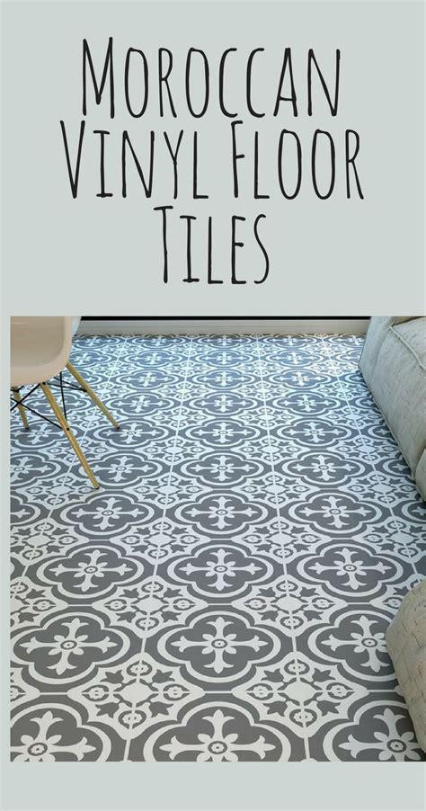 vinyl tiles   bathroom moroccan style