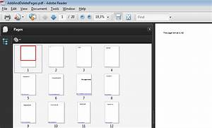 How to add and delete pdf pages for Pdf document page delete