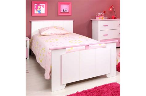 chambre a coucher fille chambre fille compl 232 te et blanche trendymobilier