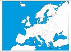Map Of Europe Template Download Free Vector Art, Stock