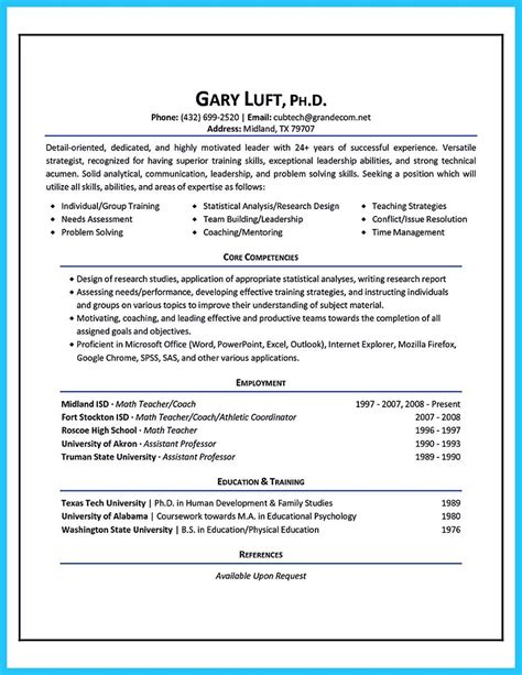 Sle Athletic Resume by Athletic Resumes Trainer Resume Exles Cover