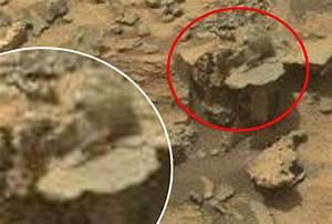 Nasa Curiosity rover beams back alien statue on Mars ...