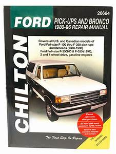 Chilton Books 26664 Repair Manual Ford F150 F250 F350