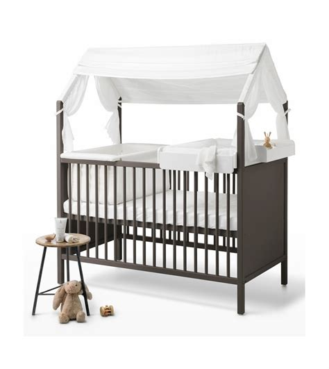 gray cribs on stokke home crib hazy grey 3917