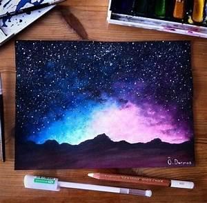 Best 25 Galaxy Painting Ideas On Pinterest Art