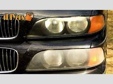 DIY How to Polish Headlights with Toothpaste YouTube