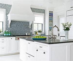 kitchen color ideas better homes gardens With kitchen colors with white cabinets with porsche logo sticker