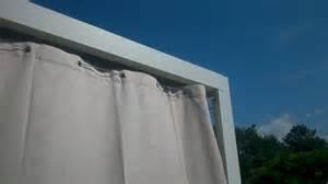 Rideau Terrasse Transparent by Un Rideau D Ext 233 Rieur Est Un Excellent Brise Vue R 233 Tractable
