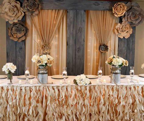 deer outdoor wedding head table ideas skull decor rustic
