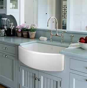 New ROHL Shaws Waterside Fireclay Sink Wins Best Kitchen