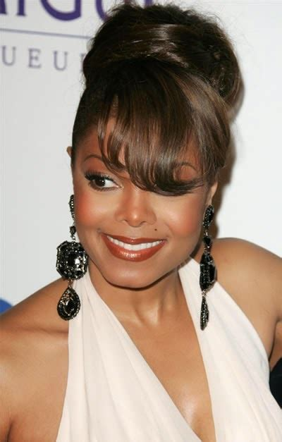 top 15 black hairstyles with buns and bangs hairstyles gallery