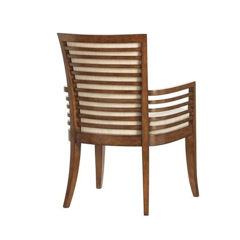 Assembled Dining Chairs by Tommy Bahama Home Ocean Club Kowloon Arm Dining Chair