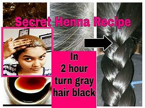 In 2 Hour Turn Graywhite Hair Brown Black 100 Natural