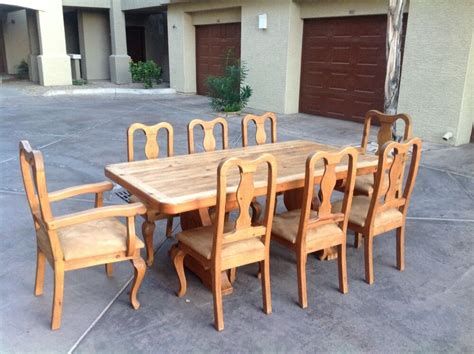 dining table   chairs mexican hacienda style ebay