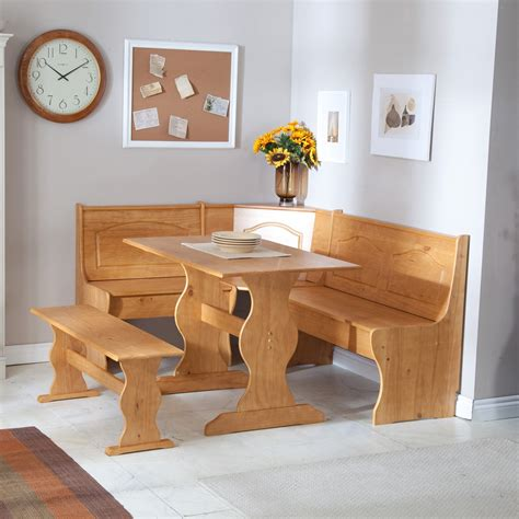 kitchen table nook with bench kitchen nook table ideas for space saving solution