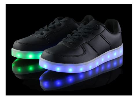 led light up sneakers led sneakers deluxe rechargeable led light up sneakers