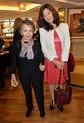 Leslie Caron and her daughter Jennifer Caron Hall ...