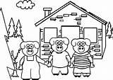 Pigs Three Coloring Sheet Printable Literacy Keys Preschoolers Wecoloringpage Fabulous Bathroom Sheets Worksheets sketch template